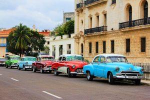 Oude Amerikaanse auto's in Havana